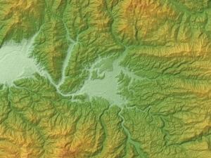 23 日田盆地図