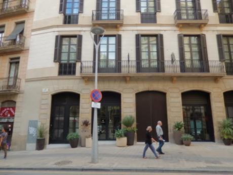 バルセロナ2017.9ホテル