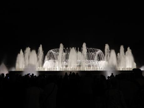 バルセロナ2017.9マジカ噴水