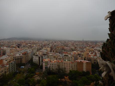 バルセロナ2017.9サクラダファミリア教会