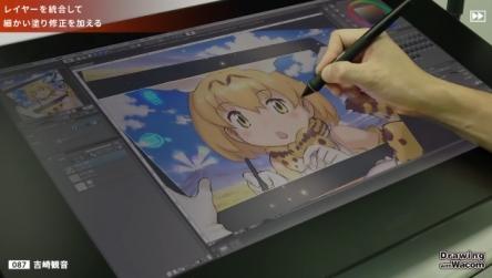 【けもフレ】漫画家・吉崎観音先生のサーバルちゃんドローイング動画きたああああ!! 「けもフレは現在色々なプロジェクトが進んでいるので、楽しみにしていてください 」