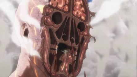 『進撃の巨人 Season3』第46話感想・・・やはり巨人戦は面白えええ! NHKは顔の断面図OKだったんか・・・めっちゃグロ・・・・