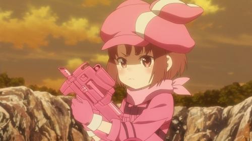 『GGO』レンちゃんの愛銃・Pちゃん(ピンク色P90)、オタクに売れすぎてしまう