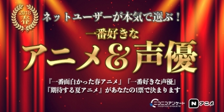ニコ動ユーザーが選ぶ「一番好きな2018年春アニメ」の結果が出る!! 1位はヒナまつり、2位にウマ娘!!