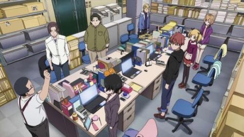 地震のせいで大阪のアニメスタジオ内が悲惨な状態に・・・・