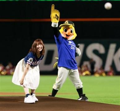 声優・内田真礼さんの始球式が可愛すぎてワロタwwwもうアイドル超えてるだろ