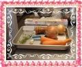 ひよこ豆スープトッピング野菜