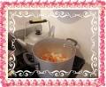 スープ用野菜蒸し煮