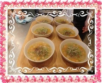 ひよこまめスープ