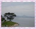 ミシガンよりの琵琶湖畔