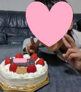 10才誕生日ケーキ