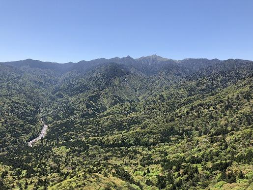 4月20日 白谷太鼓岩から遠景