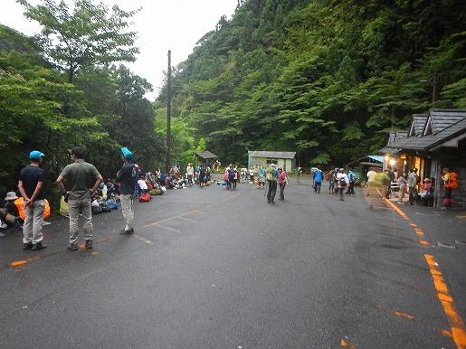8月13日 荒川登山口