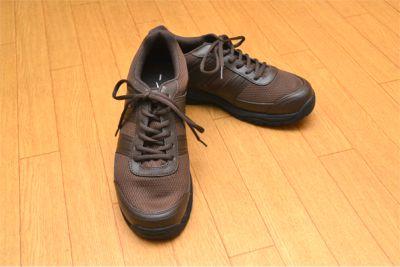 お気に入りのロケ靴