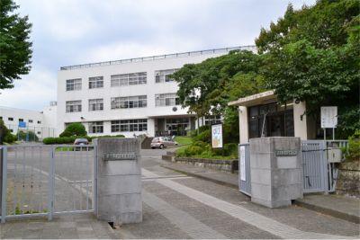 筑波大学付属高校と中学の正門