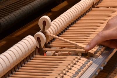 とある楽器の内部にある部品