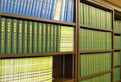 弁護士事務所の本棚