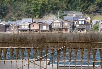 舟屋の垣根