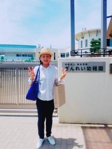 ぎんれい幼稚園 指ヨガ講座