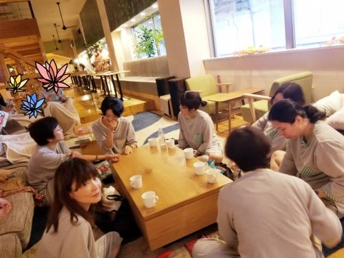 おふろカフェで官足法交流会5