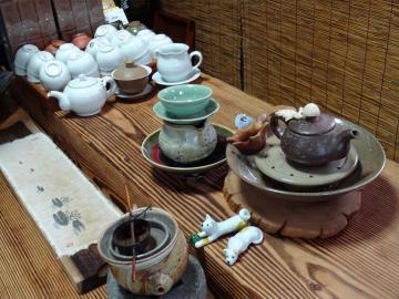 2018年7月3日 長興茶芸園 愛らしい茶器