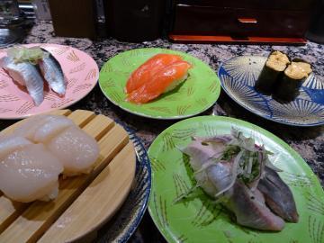 2018年9月12日 札幌回転寿司