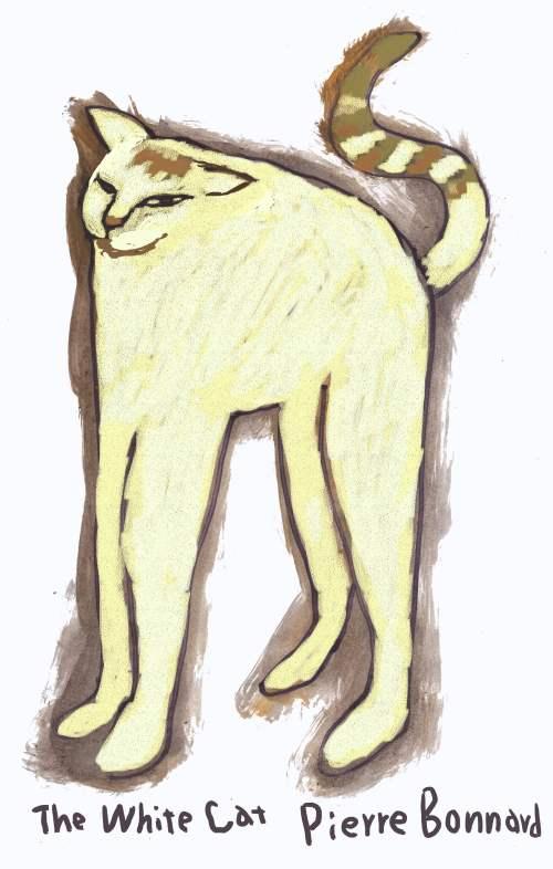 ボナールの猫 のコピー