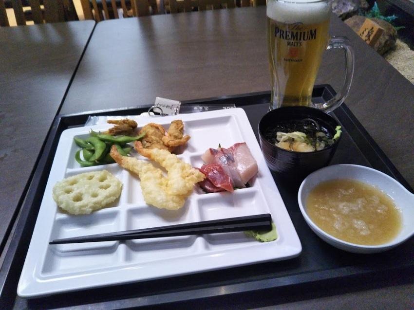 バイキング 夕食1