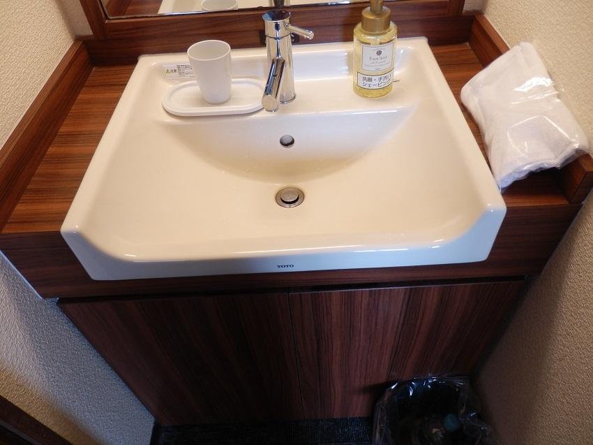 シングル洋室 洗面台