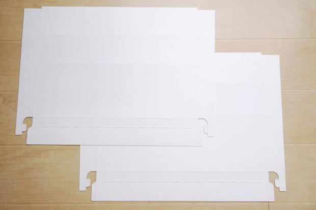 無印・ポリプロピレン収納ケース用フロントインデックス 幅34cm収納ケース用・2枚入り③