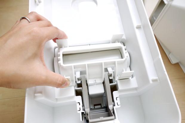 洗えて清潔 計量米びつ 12㎏型②
