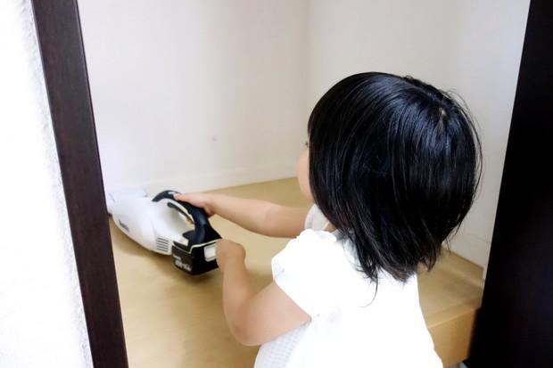 寝室・階段上収納・掃除・マキタ①