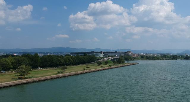 スパーク琵琶湖消えた