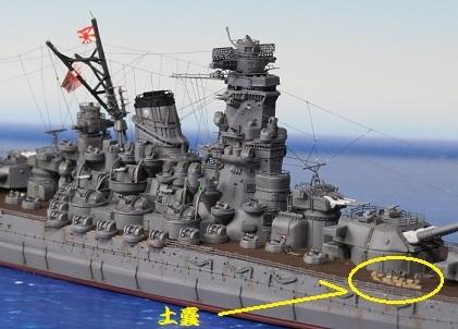 戦艦大和土嚢
