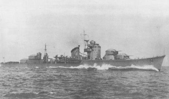 駆逐艦初月