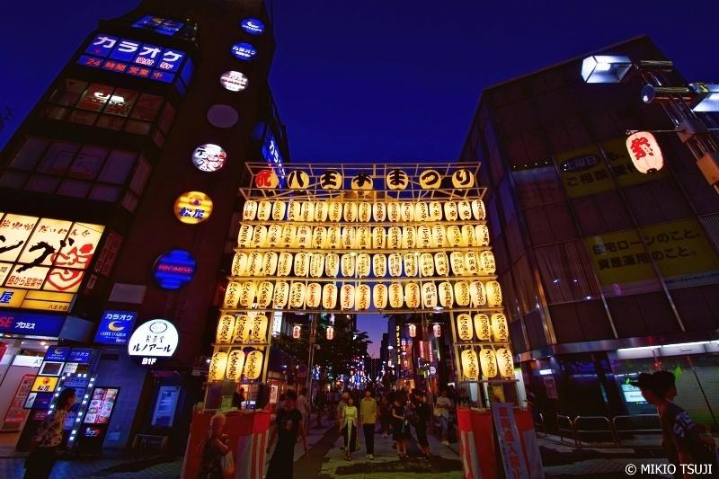 絶景探しの旅 - 0669 夏まつりへの入り口 (東京都 八王子市)