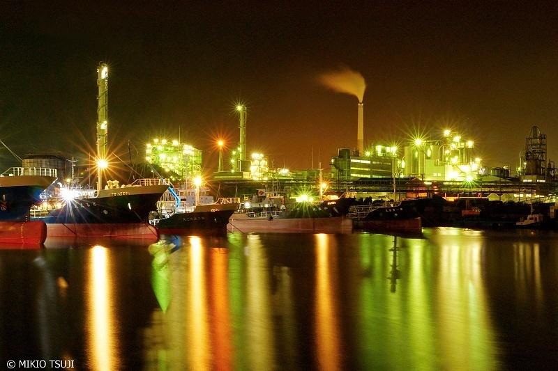 絶景探しの旅 - 0701 港夜景と工場夜景のハーモニー (周南コンビナート/山口県 周南市)
