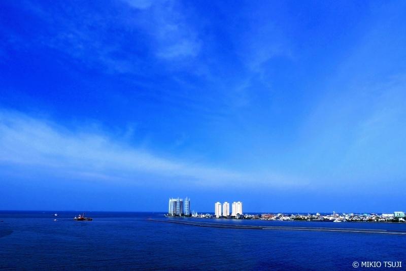 絶景探しの旅 - 0702 青いジャカルタ湾 (インドネシア ジャカルタ)